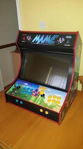 Make Your Own Arcade Cabinet by Mame Arcade Machine Diy Project Youtube
