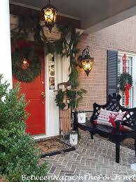traditional decorations for a front porch