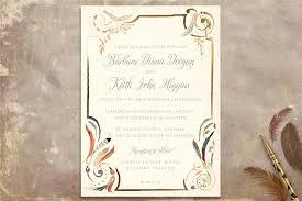 wedding invitations kilkenny gilded flight invitation wedding stationery from appleberry press