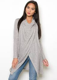 wrap sweater top taya wrap sweater shop sweaters cardigans from primp boutique