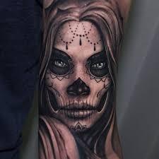 beautiful sugar skull by riccardo cassese tattoomagz