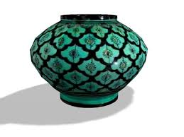 Vase Large Second Life Marketplace Vase Large Turquoise Glass Pot