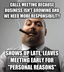 Business Meeting Meme - livememe com bad guy boss
