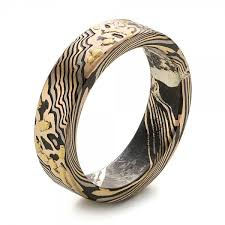 seattle wedding band 53 best mokume gane rings images on men wedding rings