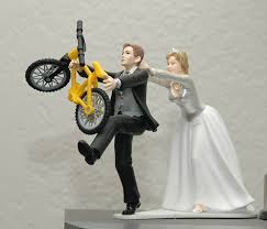 bicycle cake topper cycling theme wedding cake topper mtbr