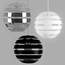 black and white ceiling light shade ceiling light shades ebay