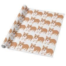corgi wrapping paper corgi pattern wrapping paper zazzle