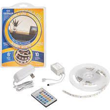 under cabinet lighting tape continu us underglow plug in led under cabinet light tape ug80ww