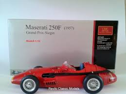maserati old models cmc 1 18 maserati 250f signed by stirling moss revilo classic