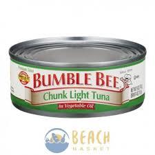 bumble bee chunk light tuna bumble bee chunk light tuna in vegetable oil beach basket belize