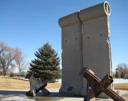 berlin wall sections berlin wall display in rapid city black hills travel blog
