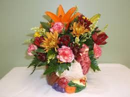 thanksgiving turkey arrangement in springfield vt woodbury florist