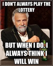 I Will Win Meme - dream about winning the lottery quirky random offbeat pinterest