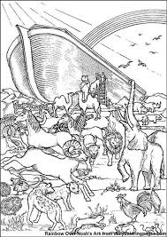 noah u0027s ark printable coloring pages