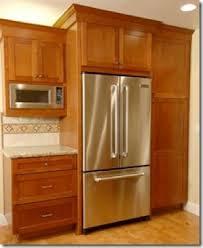 Built In Refrigerator Cabinets Inspirational Kitchen Cabinet Fridge Taste