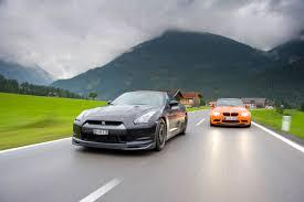nissan gtr vs porsche 911 bmw m3 gts v porsche 911 gt3 rs v nissan gt r spec v v jaguar xkr