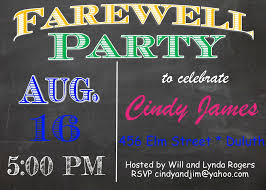 going away party invitations 40 best farewell going away invitations images on