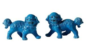 blue foo dogs the well appointed house luxuries for the home the well