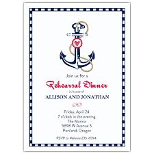 rehearsal invitations nautical anchor rehearsal dinner invitation paperstyle