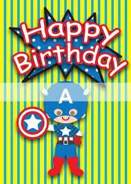 superhero birthday cards u2013 gangcraft net