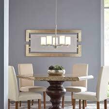 Kichler Dining Room Lighting Kichler Lighting 43186aub Grand Bank 5 Light Linear Chandelier