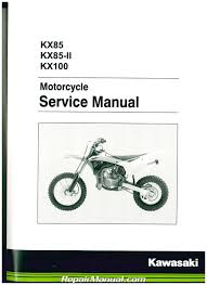 2014 2017 kawasaki kx85 kx100 motorcycle service manual
