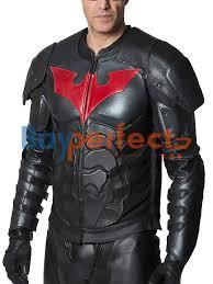 Batman Halloween Costume Batman Black Leather Jacket Bayperfect