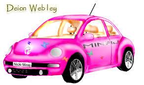 nicki minaj barbie dream car webkidd deviantart