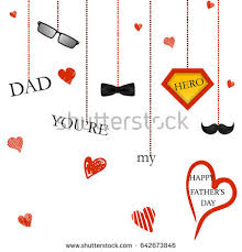 congratulation poster youre my happy fathers stock vector 646441258