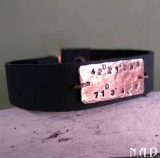 Mens Personalized Jewelry Custom Men U0027s Bracelet Leather Bracelet With Engraving For Men