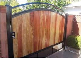 wood and wrought iron fence comfy iron fence contractor iron