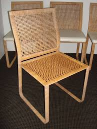 amazing rattan dining chairs with wicker kitchen table rattan