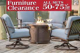 Agio 7 Piece Patio Dining Set - fire pits fire pit tables fire tables fire pit sets long