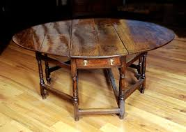 Studio Gate Leg Table A Selection Of Period Oak Antique Furniture In Stock And On