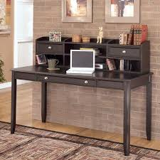 Carlyle Large Bookcase Carlyle Home Office Set W Two Leg Desk Signature Design By Ashley