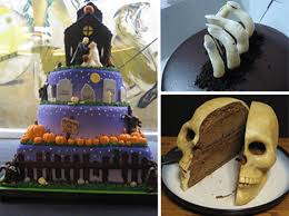 Halloween Decorated Cakes - cake art over 25 awesomely offbeat decorated cakes urbanist