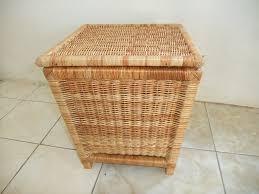 cane laundry hamper wicker furniture made in jamaica