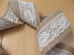 burlap and lace ribbon stylish burlap and lace ribbon decorative wall designs
