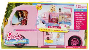 barbie dream camper playset toys