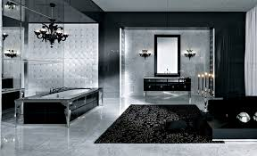 Black And White Bathroom Shower Curtain Toto Toilet On Cozy Parkay - Floor to ceiling bathroom storage cabinets