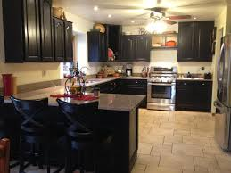 Pictures Of Kitchens With Black Cabinets Faux The Love Of It Kitchen And Furniture Refinishing With Paint