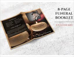 funeral booklets 8 funeral booklet templates free word pdf docs