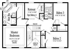 2 story colonial floor plans custom second floor floor plans 2