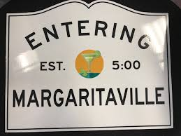 entering margaritaville sign