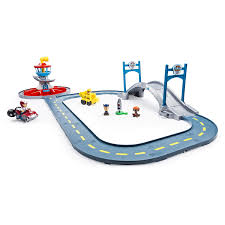 paw patrol adventure bay play table paw patrol launch n roll lookout tower track set race tracks