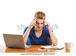 Picture Of Student Sitting At Desk Beautiful Student Sitting On Chair Isolated Stock Photo 158452427