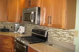 kitchen backsplash with oak cabinets backsplash pictures with oak