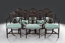 shield back dining room chairs fine set of eight george iii hepplewhite shield back mahogany