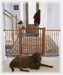 Child Proof Gates For Stairs Amazon Com Richell Pet One Touch Gate Ii Wide White Indoor