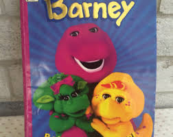 barney coloring book etsy